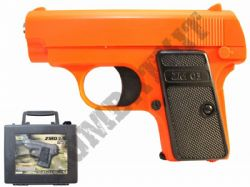 ZM03 BB Gun Colt Compact Replica Spring Airsoft Pistol 2 Tone Orange Black